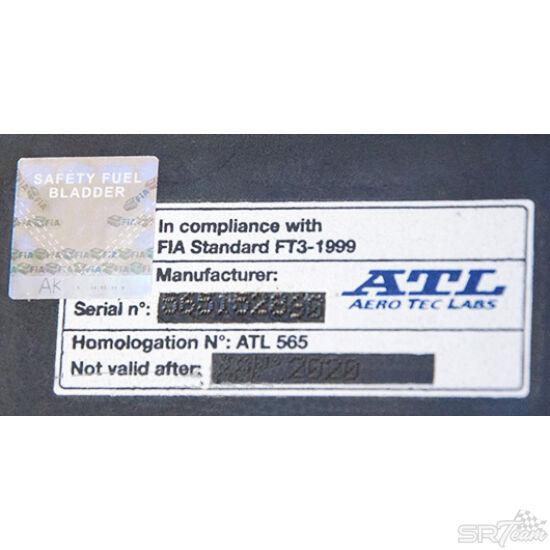 ATL tankhoz FIA homológ címke