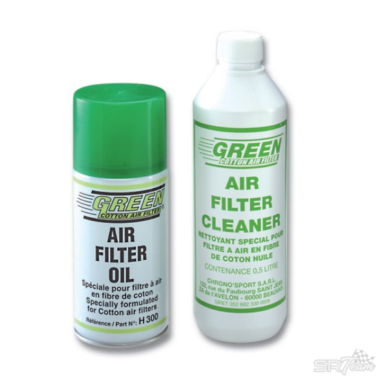 GREEN FILTER légszűrő tisztító készlet