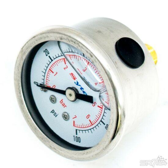Benzin nyomásmérő