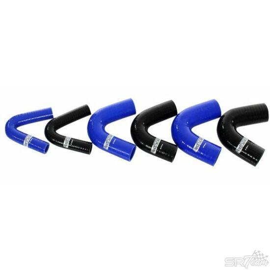 REDSPEC szilikon cső 135° 22mm, kék