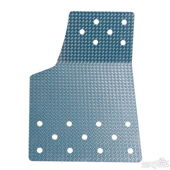 TURN ONE aluminium taposólemez (bal)