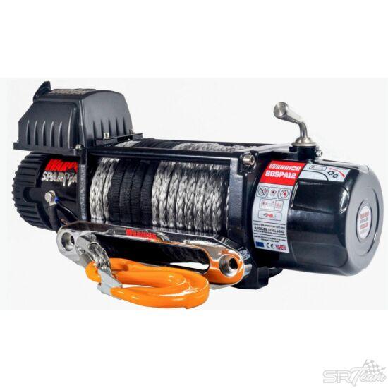 WARRIOR SPARTAN elektromos csörlő 80SPS acél kábellel, 3630kg