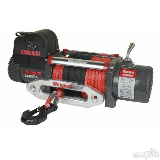 WARRIOR SAMURAI V2 elektromos csörlő 145VA szintetikus kábellel, 6580kg