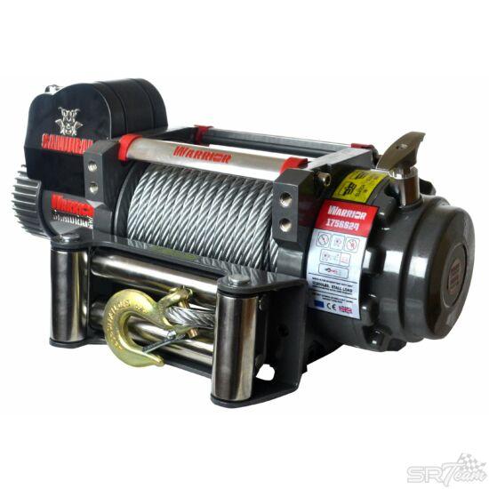 WARRIOR SAMURAI V2 elektromos csörlő 175SS acél kábellel, 7940kg