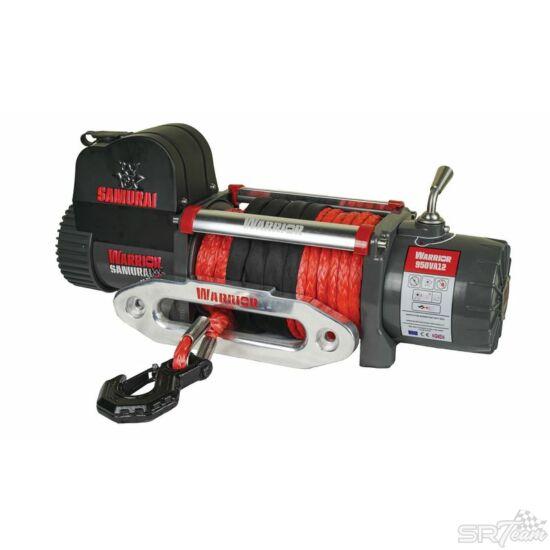 WARRIOR SAMURAI V2 elektromos csörlő 950VA szintetikus kábellel, 4310kg
