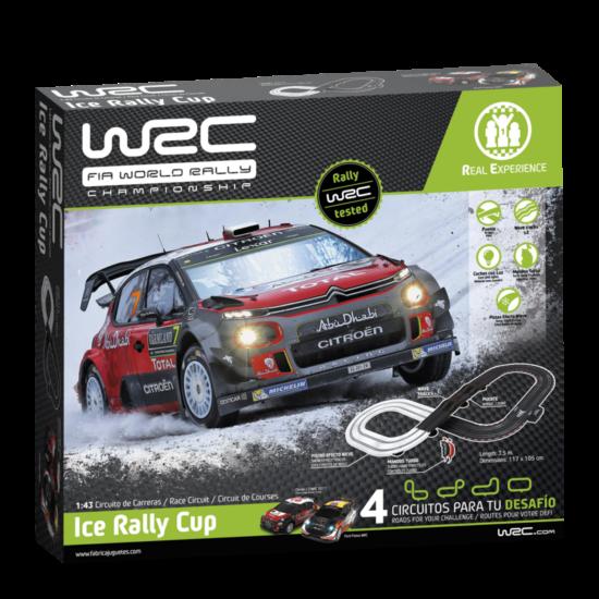 WRC Távirányítós autópálya - Ice rally